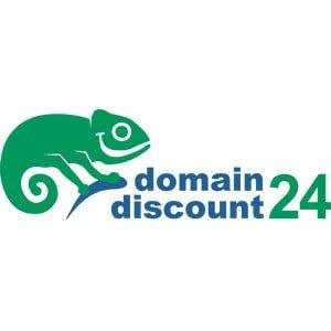 Domaindiscount24 2020 Anbieter Logo.