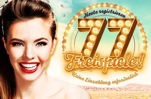 777 Casino Freispiele ohne Einzahlung