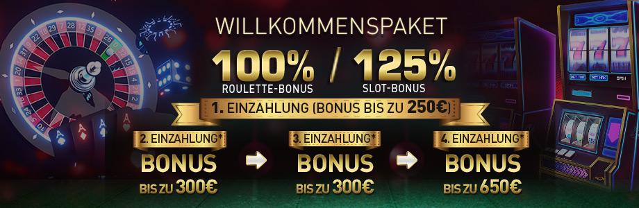 CasinoClub Neukundenbonus