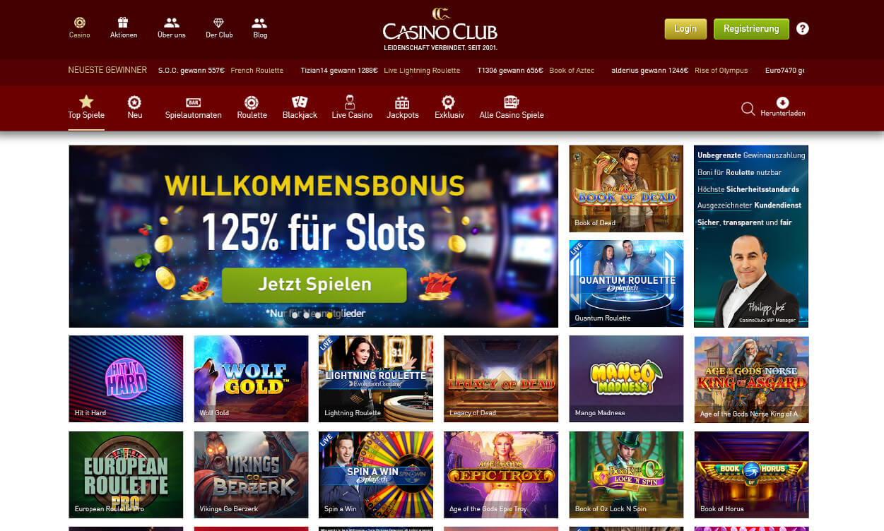 CasinoClub Test 2020.