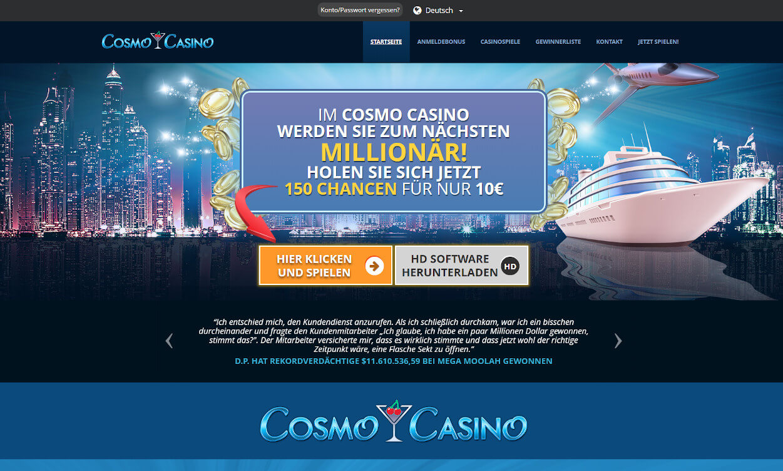 Cosmo Casino Test 2020.
