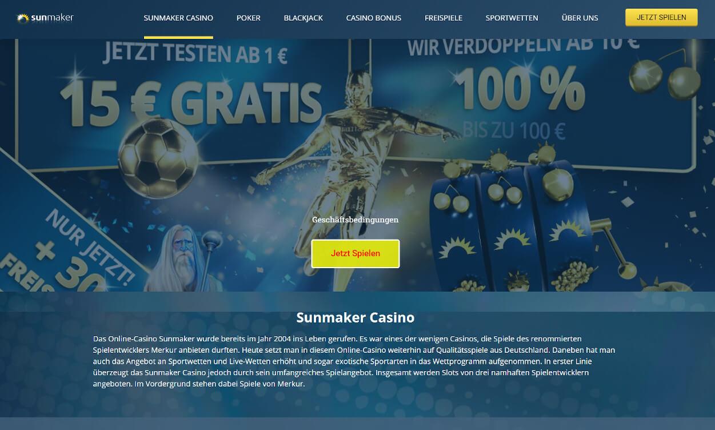 Sunmaker Casino Test 2020.