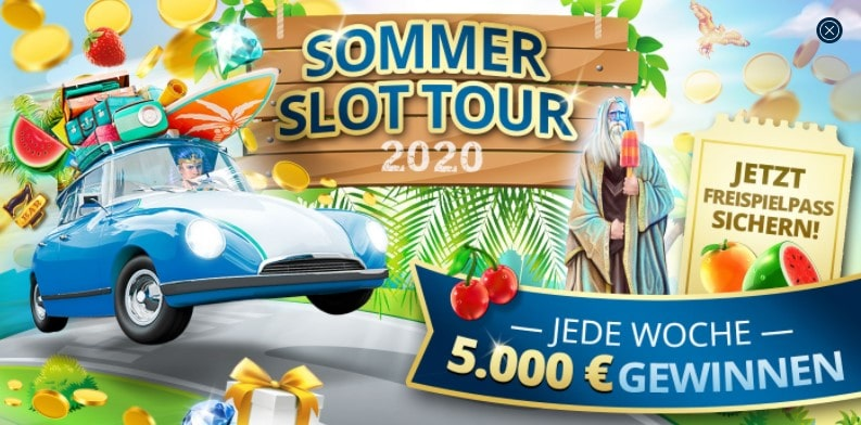 Sunmaker Casino weitere Boni