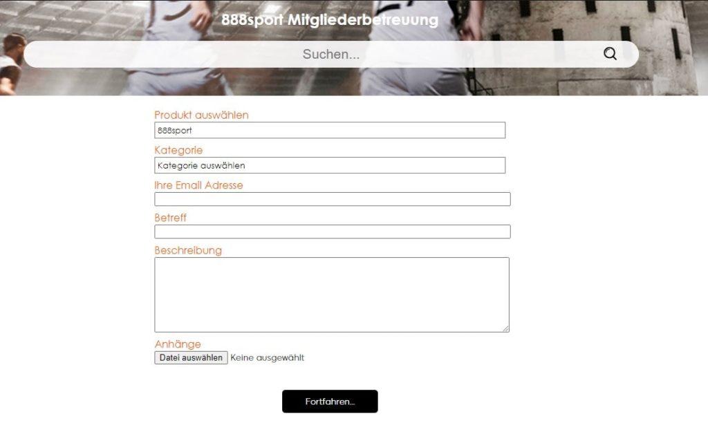 888Sport Kontakt