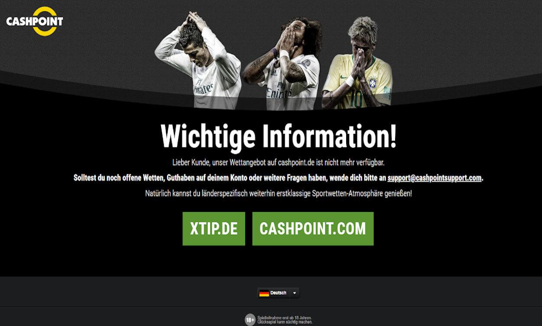 Cashpoint Sportwetten Test 2020.