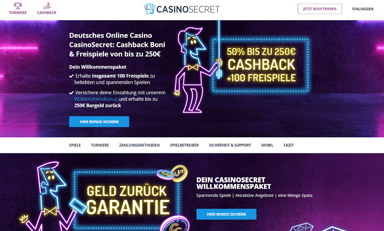 Casino Secret Test 2020.