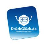 Drückglück Slots echte Erfahrungen Anbieter Logo.