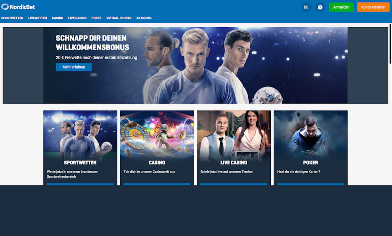 NordicBet Webseiten Test 2020.