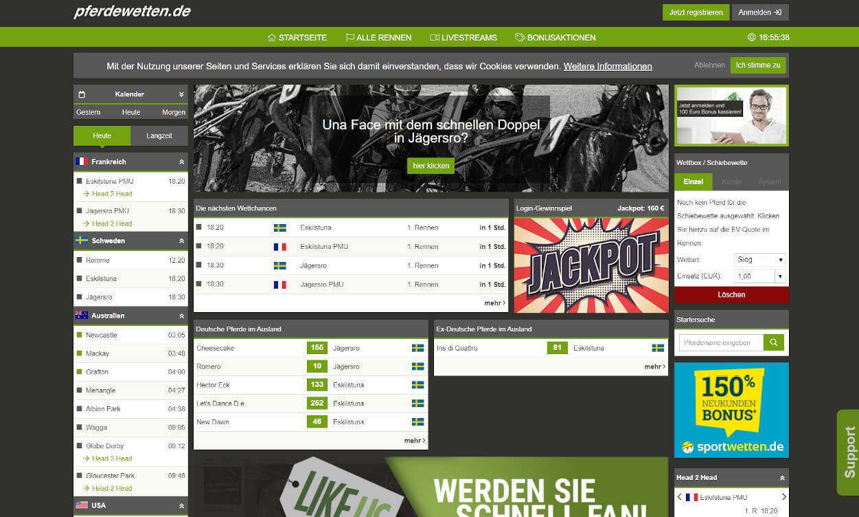 Pferdewetten.de Sportwetten Test 2020.