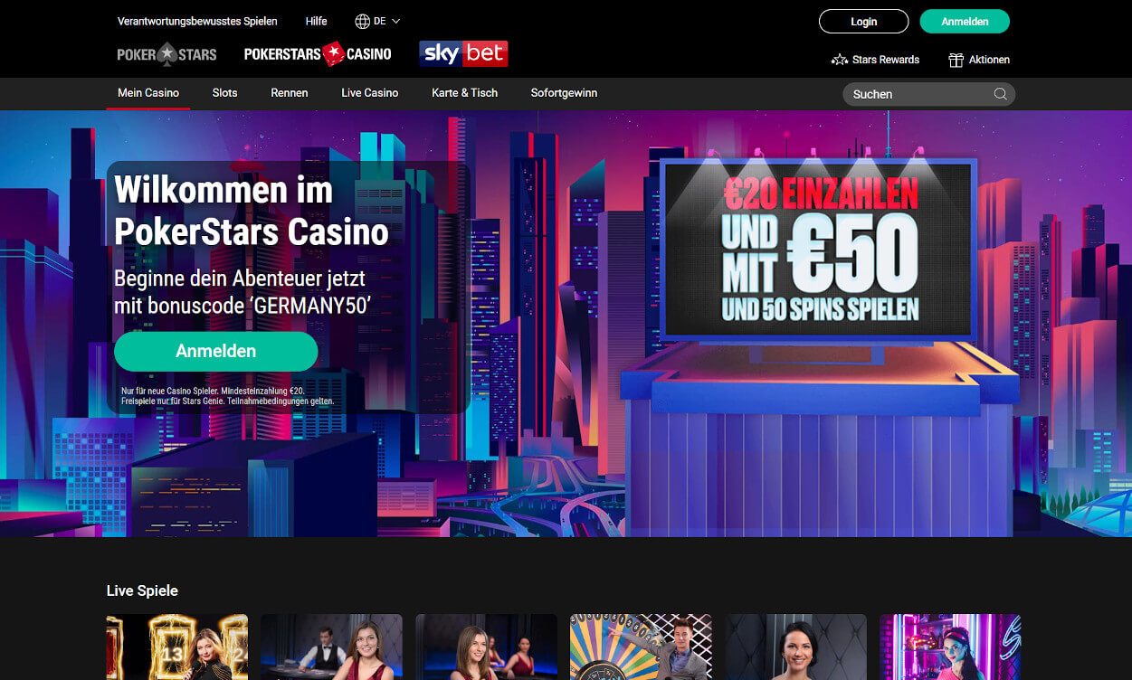Pokerstars Casino Test 2020.