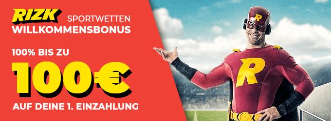 Rizk Sportwetten Bonus