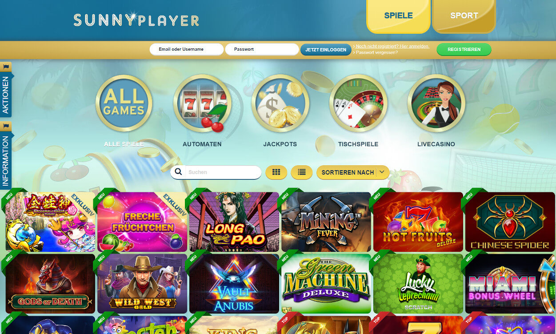 Sunnyplayer Casino App