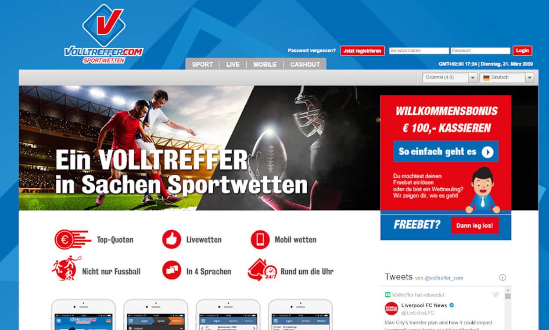 Volltreffer Sportwetten Test 2020.