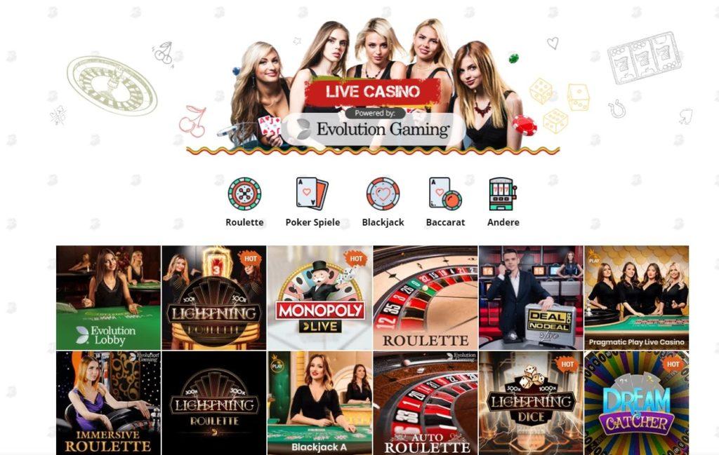 Bob Live Casino