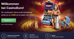 CasinoEuro Willkommensbonus