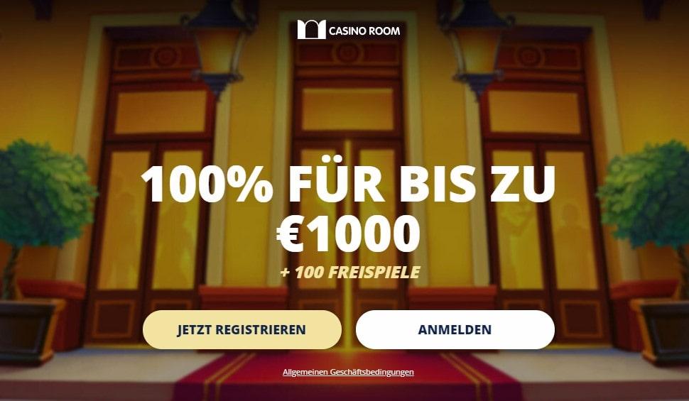 CasinoRoom Willkommensbonus