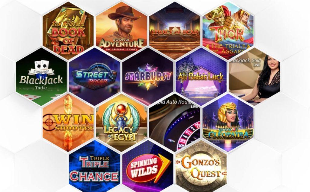 Drueckglueck Casino Spielangebot