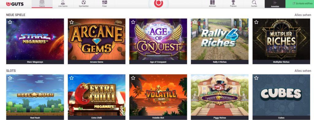 Guts Casino Slots