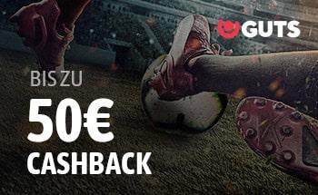 guts Sportwetten Bonus von bis zu 50€ erhalten.