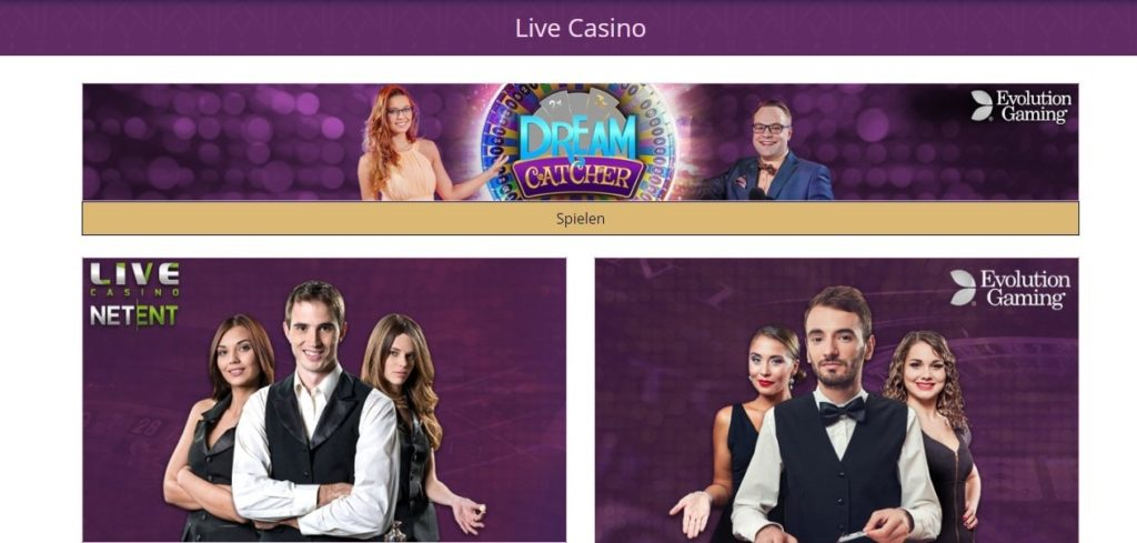 Lord Lucky Live Casino