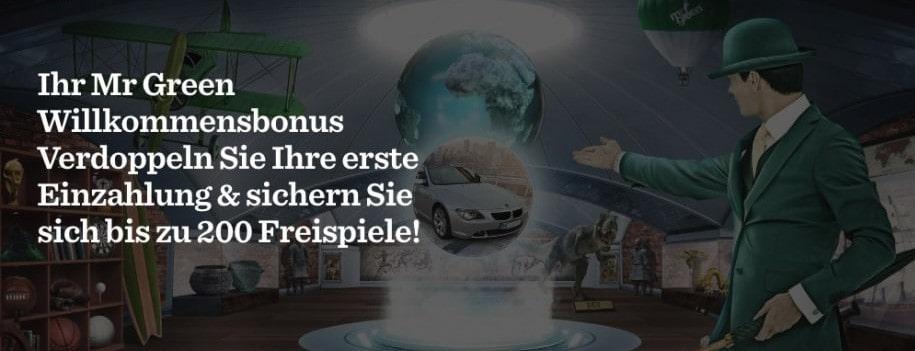 Mr Green Casino Neukundenbonus