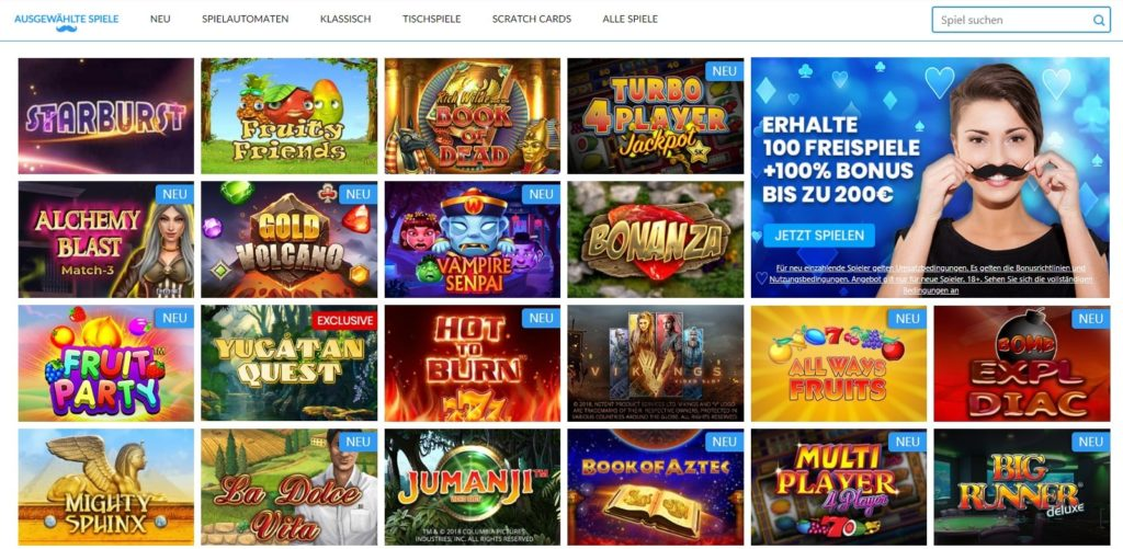 Mr.play Casino Spielautomaten