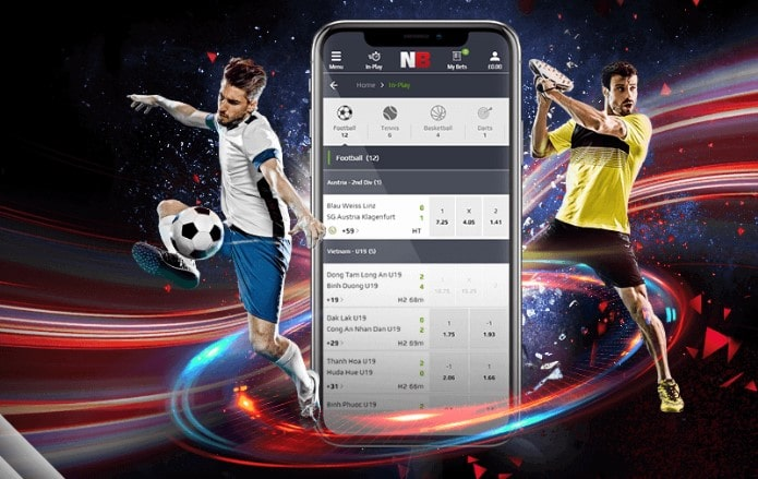 NetBet mobile Webseite