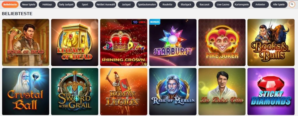 Netbet Casino Slots