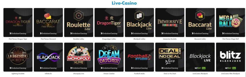 Slotty Vegas Live Casino