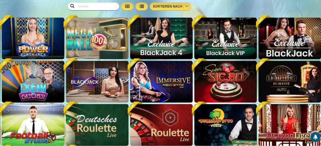 Sunnyplayer Live Casino