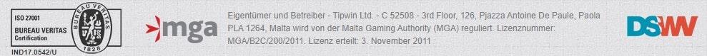 Tipwin Lizenz