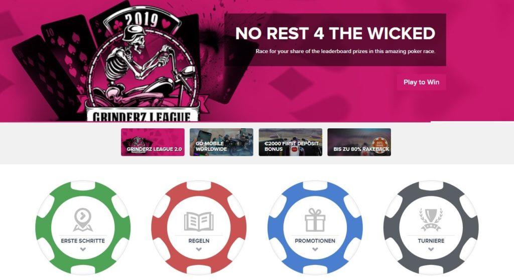 Tonybet Poker Webseite