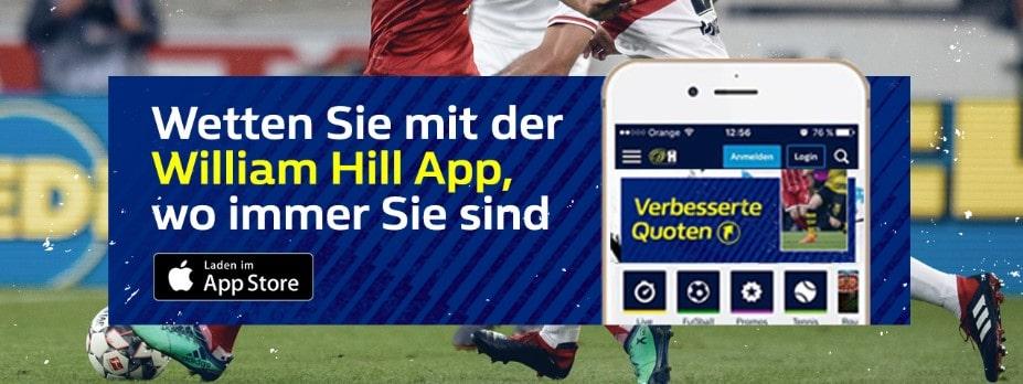William Hill Applikation