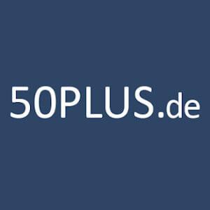 50Plus Erfahrungen 2020 Anbieter Logo.