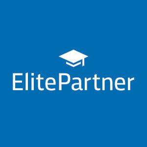 Elitepartner Erfahrungen 2020 Partnerbörsen Logo.