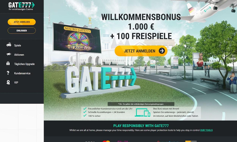 Gate777 Casino Test 2020.