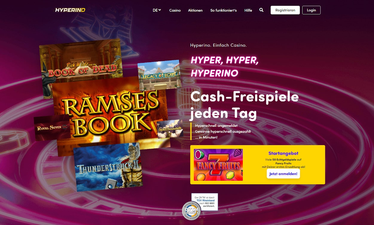 Hyperino Casino Test 2020.