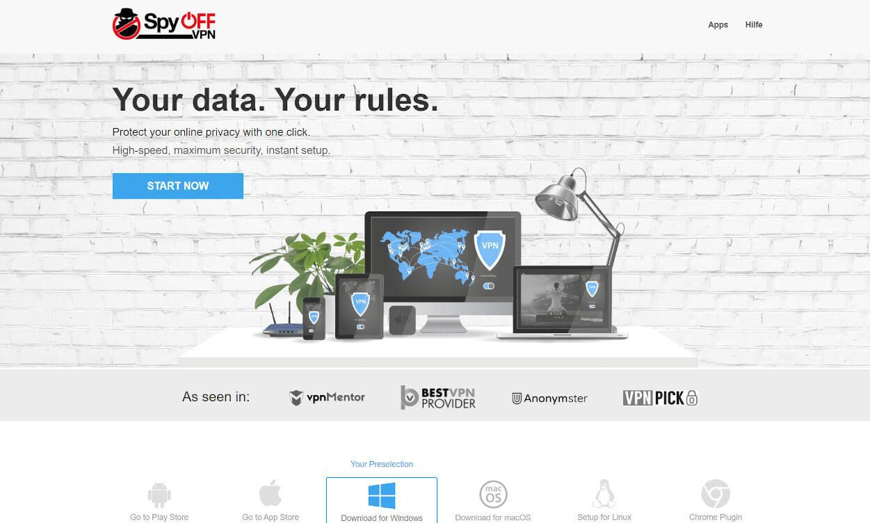 Spyoff VPN Test 2020.