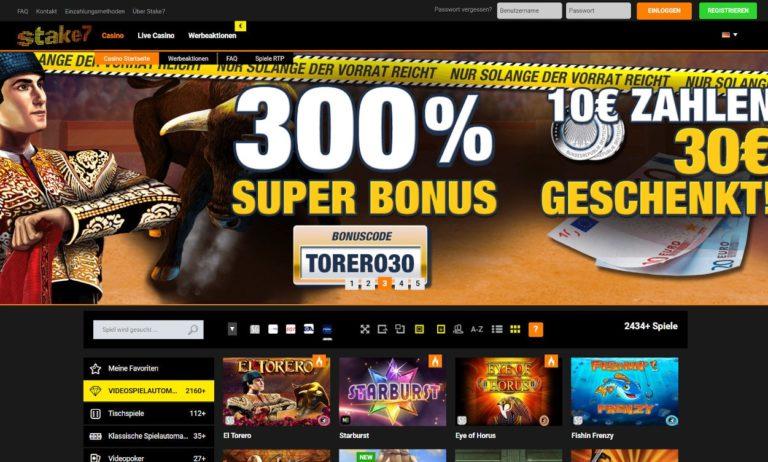 Stake7 Casino Erfahrungen