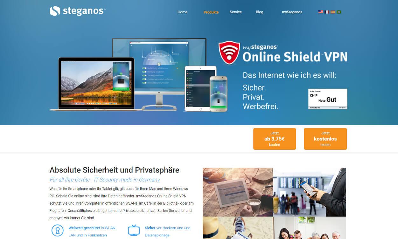 Steganos Online Shield VPN Test 2020.