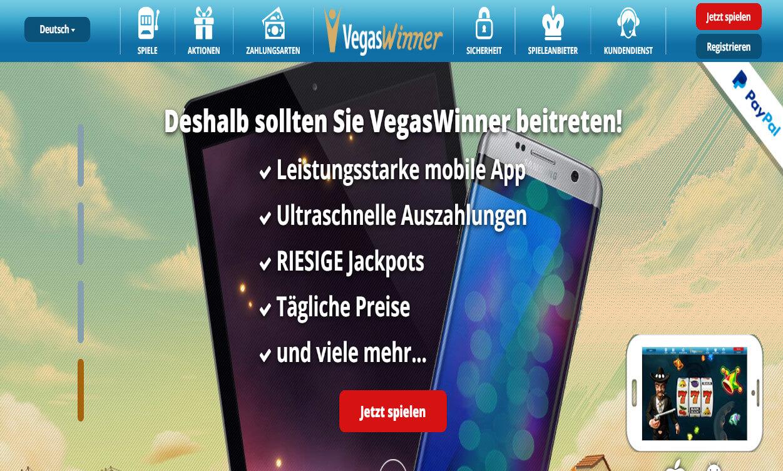 Vegas Winner Casino Test 2020.
