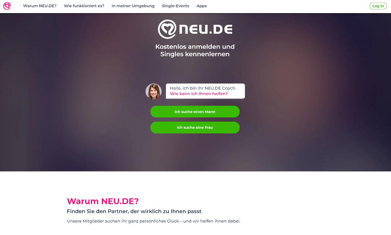 neu.de Partnerbörse Test 2020.