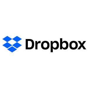 Dropbox Erfahrungen Anbieter Cloud Speicher 2020 Logo.