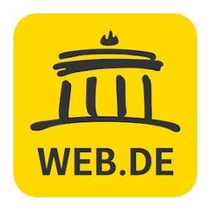 Web.de Online Speicher Erfahrungen Anbieter Cloud Speicher 2020 Logo.