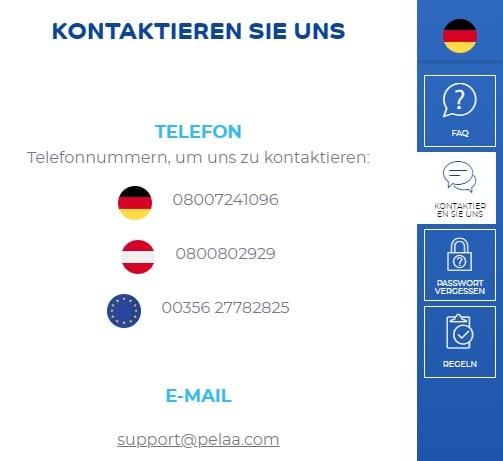 Pelaa Slots Kundenservice