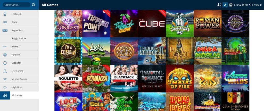 Roxy Palace Casino Slots