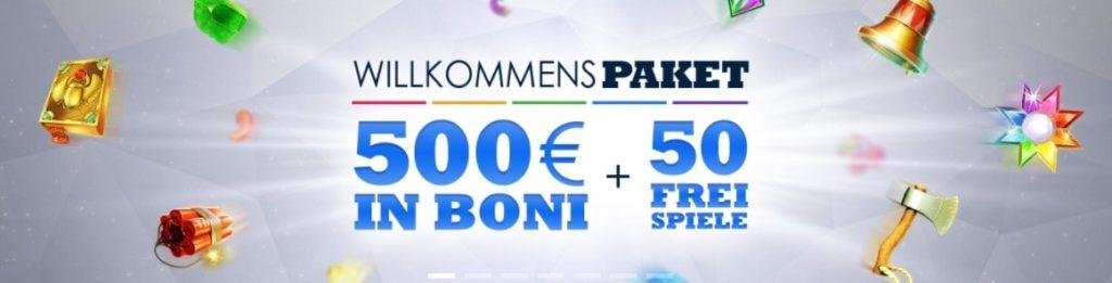 SlotsMillion Casino Neukundenbonus
