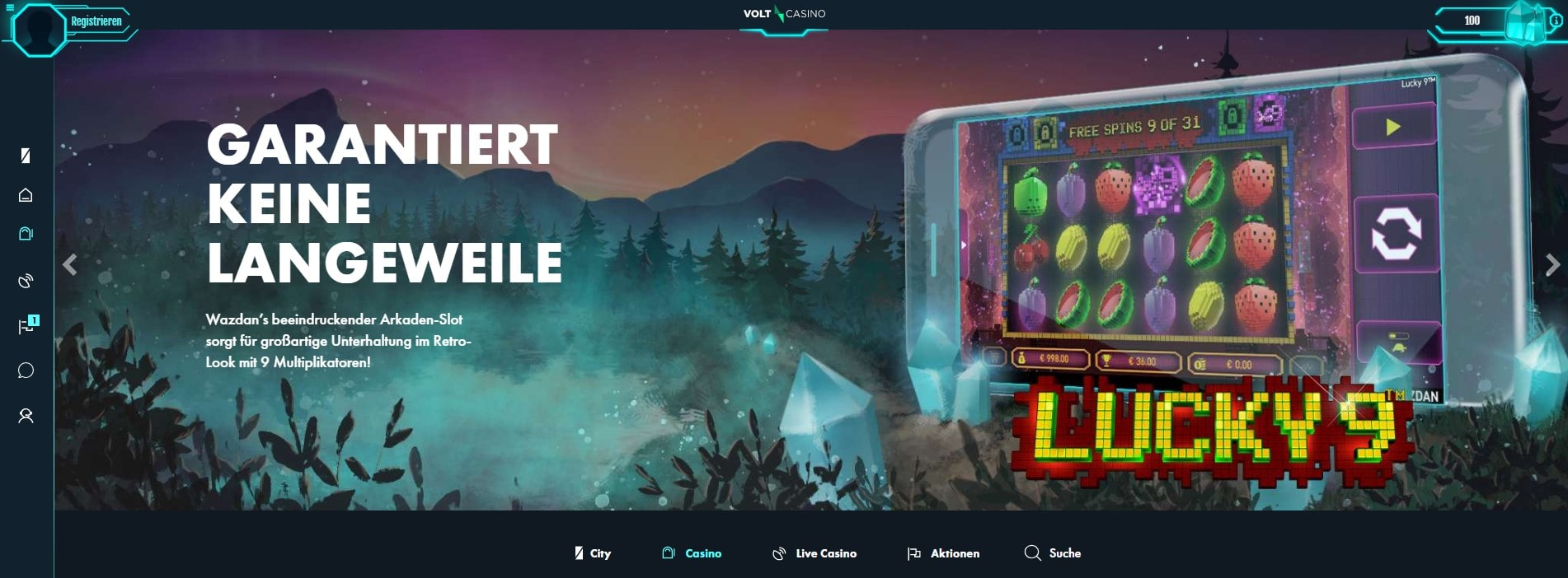 Volt Casino Startseite