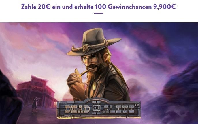 Wishmaker Casino Neukundenbonus